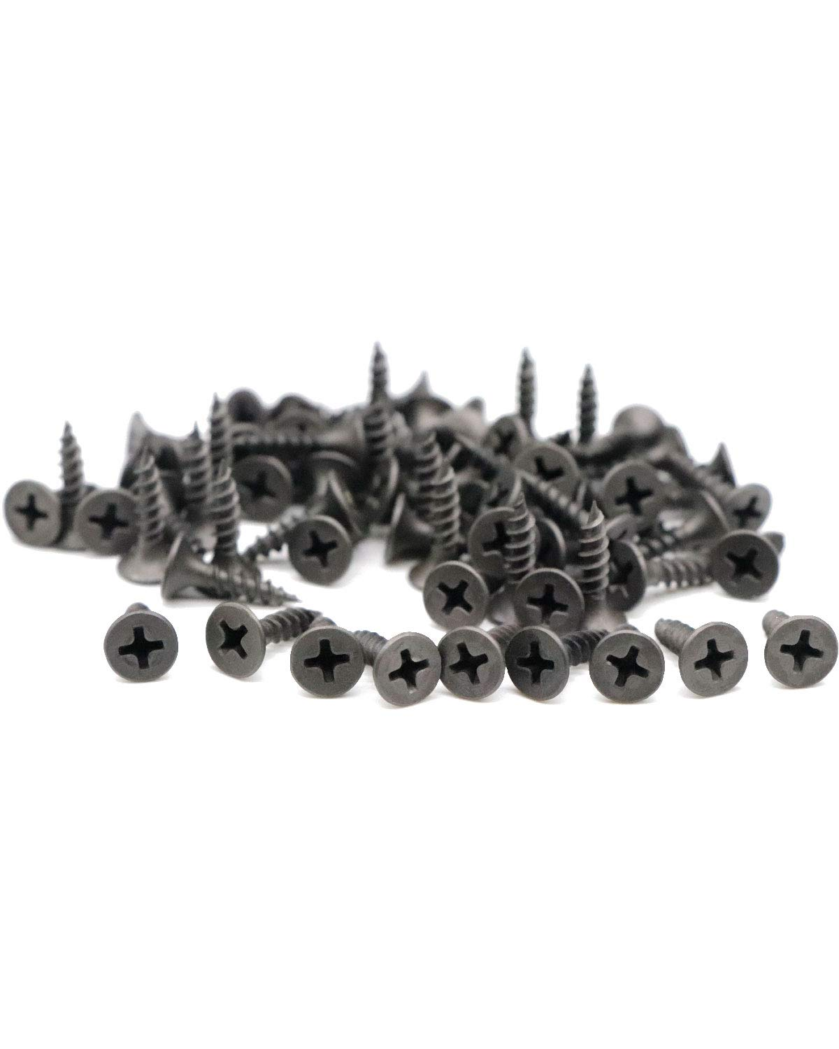 Flat Head Phillips Drywall Screws 6# X 5//8 inches,250pcs,Fine Thread Sharp Point Wood Screw Carbon Steel 1022A Gray Phosphate