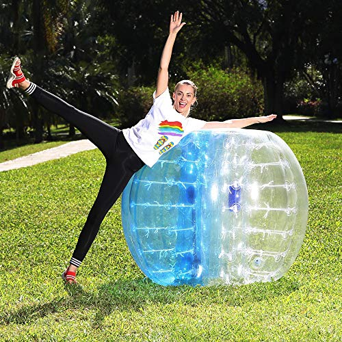 Bubble Soccer, Inflatable Bubble Bumper Balls for Adults, Giant Hamster Ball for Humans, Bubble Soccer for Adults, 5 FT(1.5 M) Bubble Ball Sports -