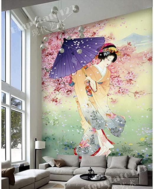 Fototapeten Sakura Trees Fototapete Benutzerdefinierte 3D ...