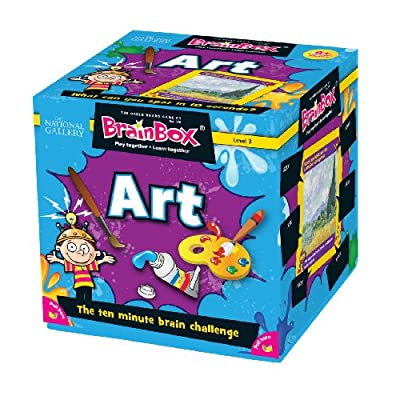 BrainBox for Kids - Art Card Game: Toys & Games
