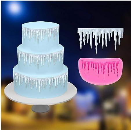 Frozen Cake Decoration Silicone Border Sugarcraft  Fondant Mold