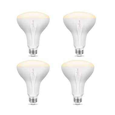 Sengled Element Classic Smart LED Light Bulb (Hub Required), BR30 Dimmable LED Light Soft White 2700K 65W Equivalent, Works with Alexa / Echo Plus / SmartThings / Google Assistant, 4 Pack