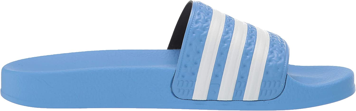 adidas Originals Men's Adilette Slide Sandal Real Blue/White/Real Blue