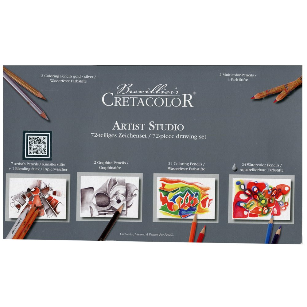 Cretacolor Artist Studio Set 72 Pieces