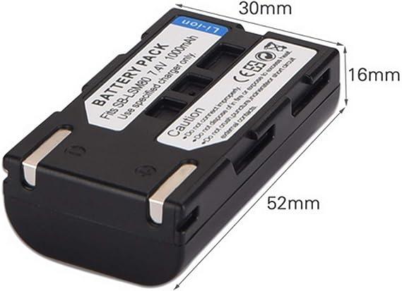 VP-D355 Digital Camcorder VP-D352 LCD USB Battery Charger for Samsung VP-D351 VP-D354 VP-D353