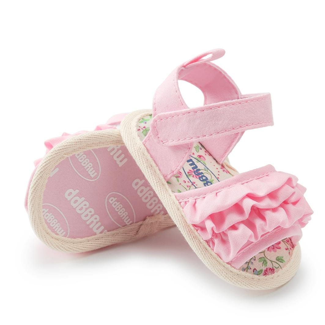 Baby Sandals,Kimanli Flower Casual Shoes Sneaker Anti-slip Soft Sole Toddler Shoes