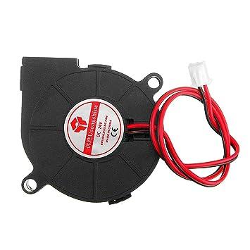 24V 0.15A 5015 Ventilador de refrigeración turbo sin escobillas ...