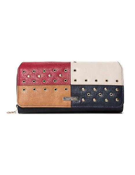 Desigual - Wallet Torino Maria Women, Carteras Mujer, Azul ...