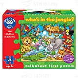 Orchard Toys Who's in the Jungle? Jigsaw Puzzle, age 3+