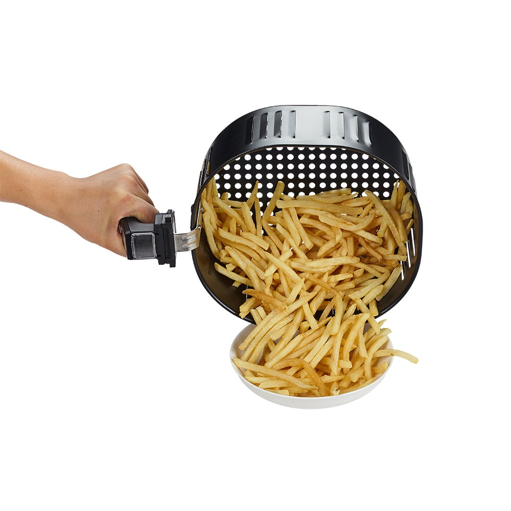 GoWISE USA 5.8-Quarts 8-in-1 Electric Air Fryer XL + 50 Recipes for your Air Fryer Book (Black) by GoWISE USA (Image #7)