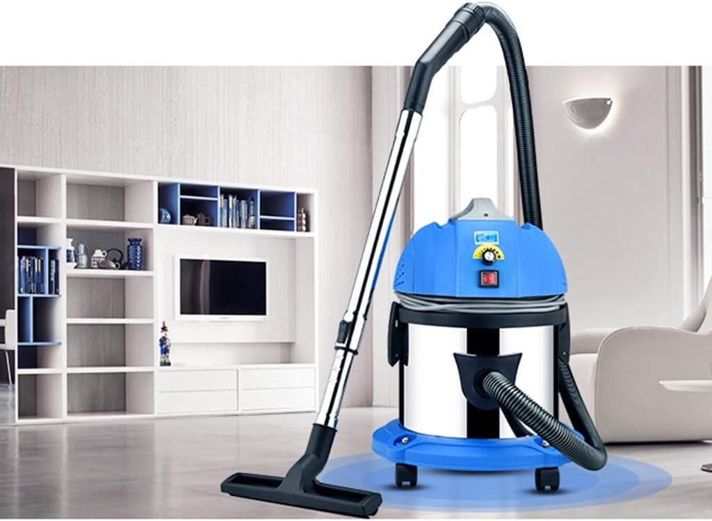 Aspiradora, 1400w 45L Barrido de succión húmedo y seco de Alta Potencia, Aspiradora Industrial for alfombras, Azul (28.5x43.5cm) Xuan - Worth Having: Amazon.es: Hogar