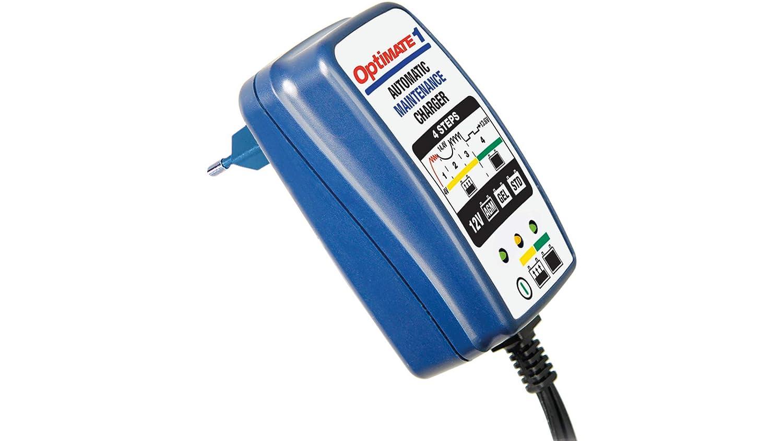 Optimate TM400 Chargeur Mainteneur de Batterie 12 V 0,6 A en 4 Etapes Bleu