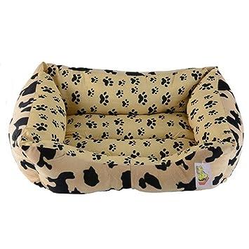 PLHF Nido acolchado Caseta de perro Otoño e invierno con alfombras para mascotas Nido de gato