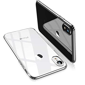 4e6dfabac9 ESR iPhone XR ケース クリア ソフトカバー 薄型 透明TPU 【 指紋防止 落下防止 黄