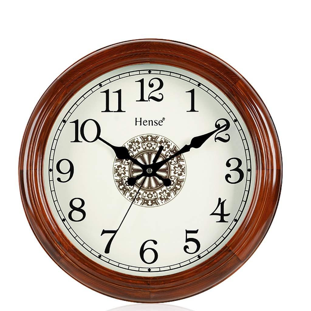 Wanduhr Quarzuhr - MEISD33 Europäische Persönlichkeit Creative Digital Living Home Moderne minimalistische runde Uhr (Farbe   B, größe   S)