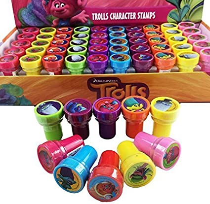 My Little Pony Stamps 60pc Stampers self-inking toy Party Favors