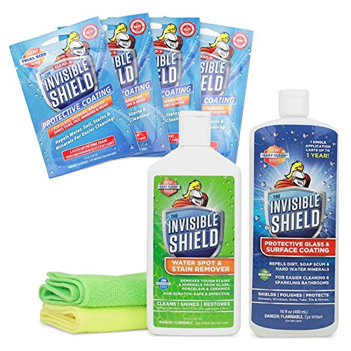 Invisible Shield® Glass Cleaner/Protector 8 Piece Bundle by Clean-X® Invisible Shield®