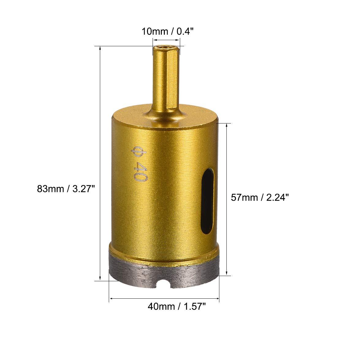 Carte de Source 30/Mm-75/mm Carottier diamant /à sec//humide Agir pour b/éton Brique Pierre ma/çonnerie