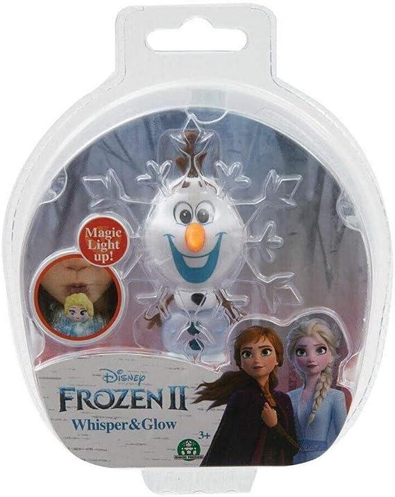 Amazon.es: frozen 2 Whisper & Glow Figure - Olaf: Juguetes y juegos