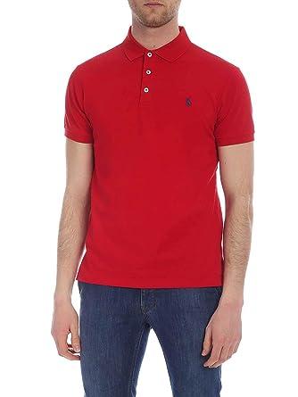 Ralph Lauren Luxury Fashion Hombre 710541705111 Rojo Polo ...