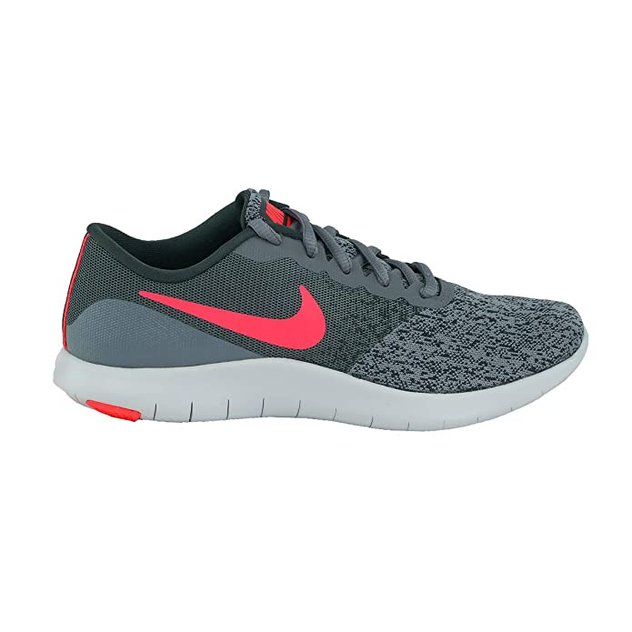 best sneakers 69657 c0c98 Amazon.com   Nike Women s Flex Contact Running Shoes Cool Grey Solar Red Anthracite  5.5   Road Running