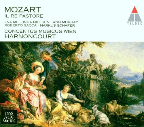 Mozart - Il Re pastore / Mei, Murray, Nielsen, Sacca, M. Schafer, Concentus musicus Wien, - Murray Shops Street