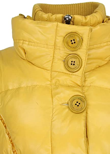 khujo Winterjacke Iff Yellow