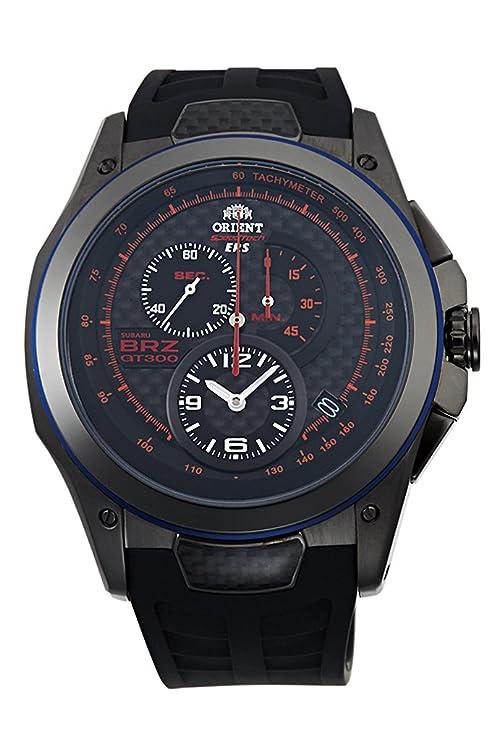 Orient Speedtech Subaru Brz GT300edición limitada reloj skt00003b
