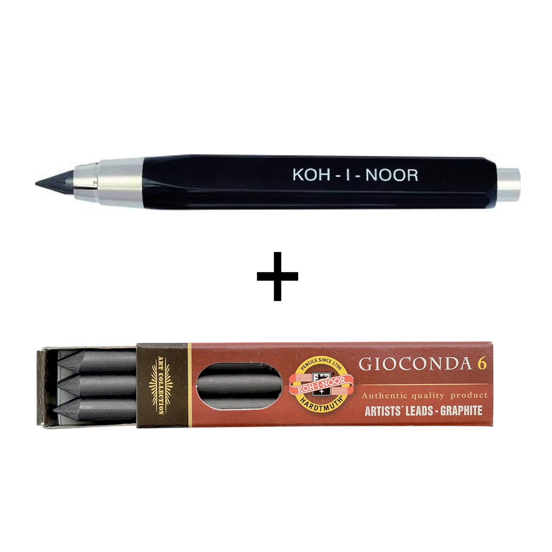 Koh-I-Noor 5,6 mm Fallminenstift Metall Länge 14 cm blaumetallic Minenspitzer