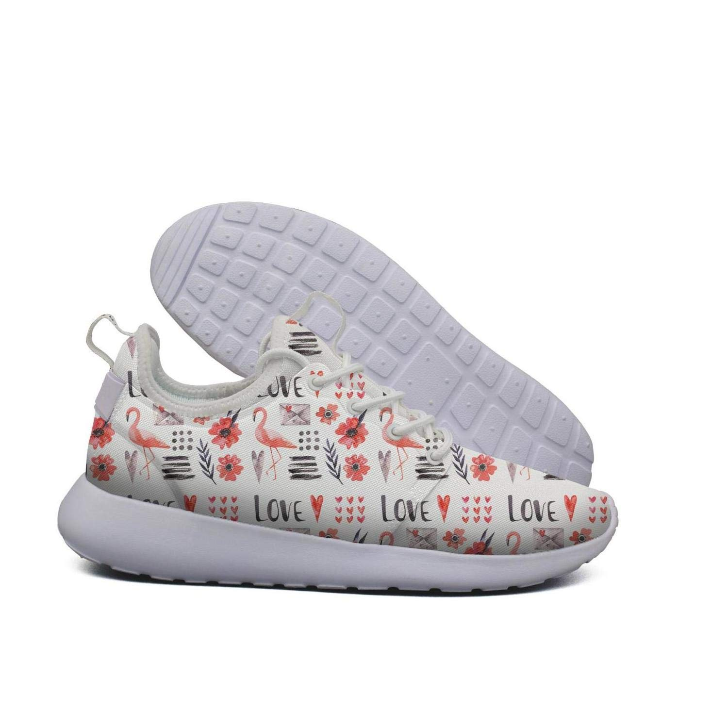61850624f60059 Amazon.com  Gjsonmv Women s Give me Pizza Love Skulls Star Sky mesh Fashion  Shoes lightweighttrack Sneakers  Sports   Outdoors