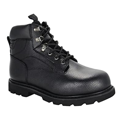 fc19ab9fab7 Dr. Zen Big Ben Men's Therapeutic Diabetic Extra Depth Work Boot Leather  Lace