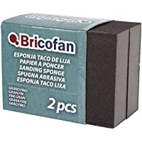 Cofan 09720852 esponjas tacos de lija, Grano fino