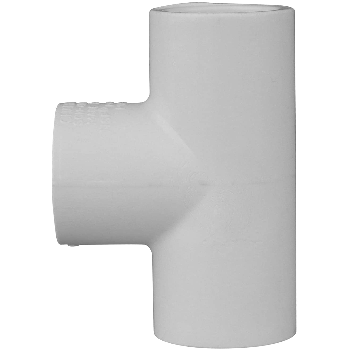 Schedule 40 PVC Pressure Durable Socket x Socket Charlotte Pipe 1 45 Degree Elbow Pipe Fitting - High Tensile and Sound Deadening for Home or Industrial Use Easy to Install 25 Unit Box