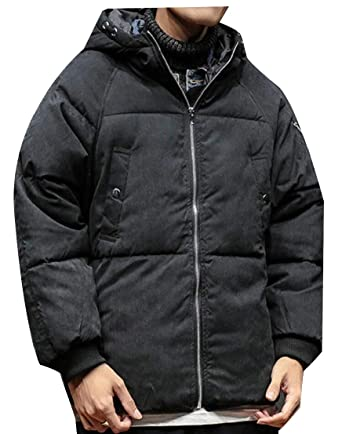 eee8e9c34 Generic Mens Loose Fit Thick Fashion Big-Tall Winter Padded Down ...