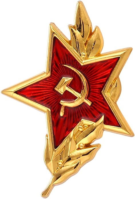 Cold WAR ADN Communism CCCP Button PINS PINS for Backpacks Badges Hobby of Kings USSR Soviet ERA Enamel PINS BROOCHES