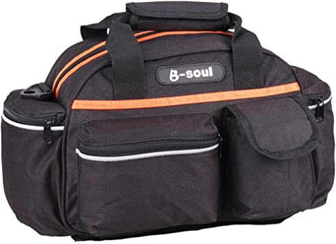 B-SOUL Multifunctional Bike Cycling Rear Seat Bag Waterproof Rear Trunk Bag ND