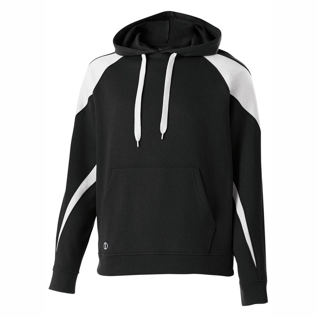 Holloway Youth Prospect Hoodie (Large, Black/White) by Holloway