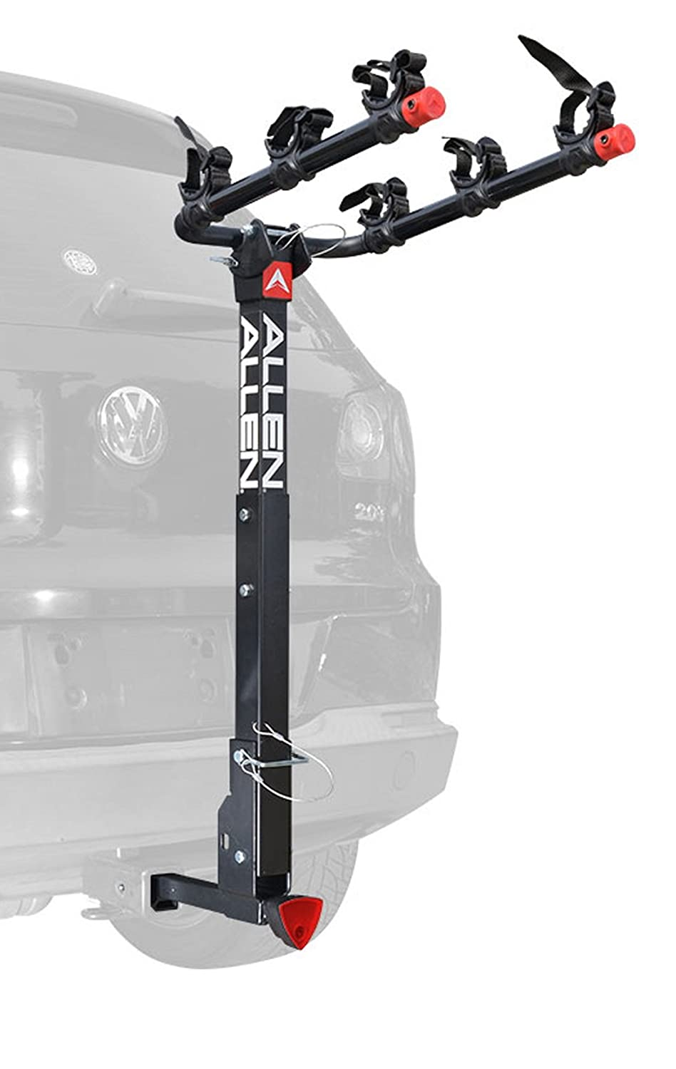 Allen Sports Deluxe Locking Quick Release 2-Bike Carrier for 2 in. & 1 4 in. Hitch R. A. Allen Co. Inc. 522QR