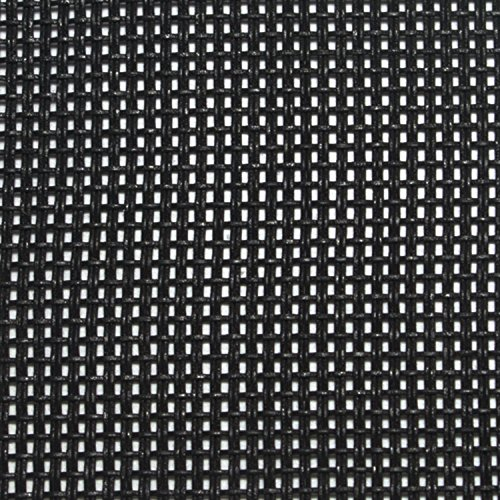 "Cabinet Grill Cloth, Black Weave, 34"" Width by NewOldSounds"
