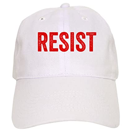 cb7878d30 Amazon.com: CafePress Resist Hashtag Anti Donald Trump Baseball Cap ...