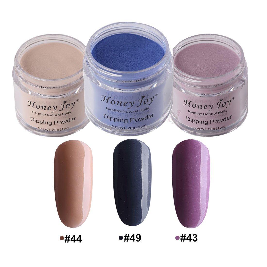 Amazon.com: 3pcs 28g/Box Multi Colorful Dipping Powder Without Lamp ...
