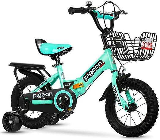 KXBYMX Bicicleta Infantil Niños y niñas Bicicletas para niños ...