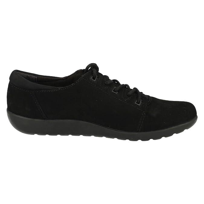 CLARKS Clarks Womens Shoe Medora Bella Black Nubuck 6.0 D Nds5f1TZ
