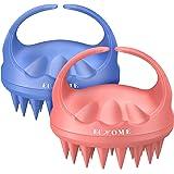 Scalp Massager Shampoo Brush, EUHOME Scalp Brush Hair Scrubber, Hair Washing Brush Scalp Exfoliator Brush for Dandruff, 2 Pac