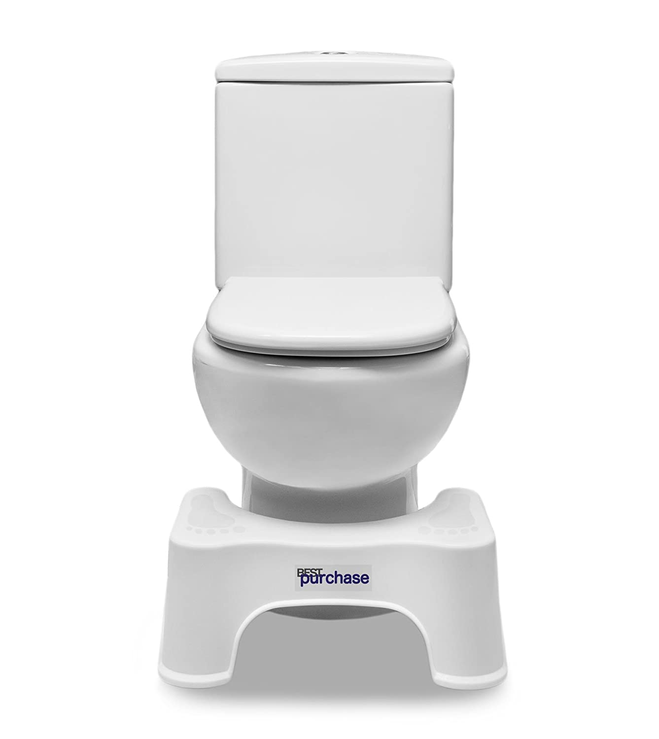 Physiologischer Hocker für die Toilette | medizinischer | Schwangerer Badhocker | Badezimmerhocker | Toilettenhocker | Fußhocker | Anti-Verstopfung Hocker | WC Hocker | Erleichterungshelfer Best Purchase