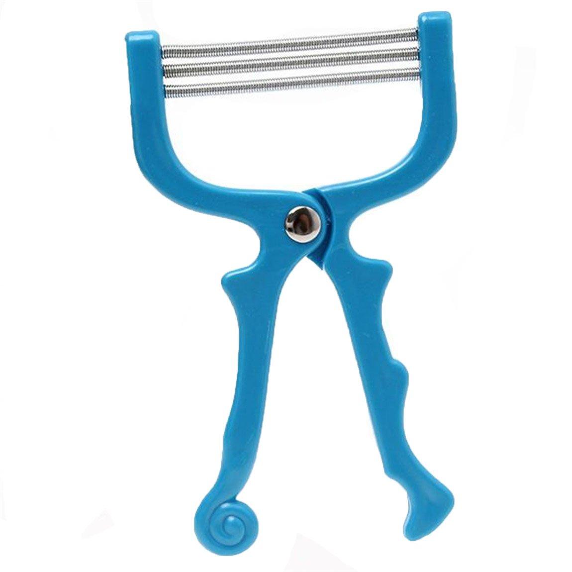 15x9cm HENGSONG Facial Hair Remover Tool Facial Threading Beauty Tools (Purple) Mei_mei9