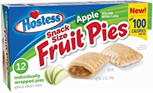 Hostess Snack Size Fruit Pies,Apple,12 Oz