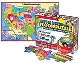 United States Floor Puzzle & Music Cd (Giant Floor Puzzles)