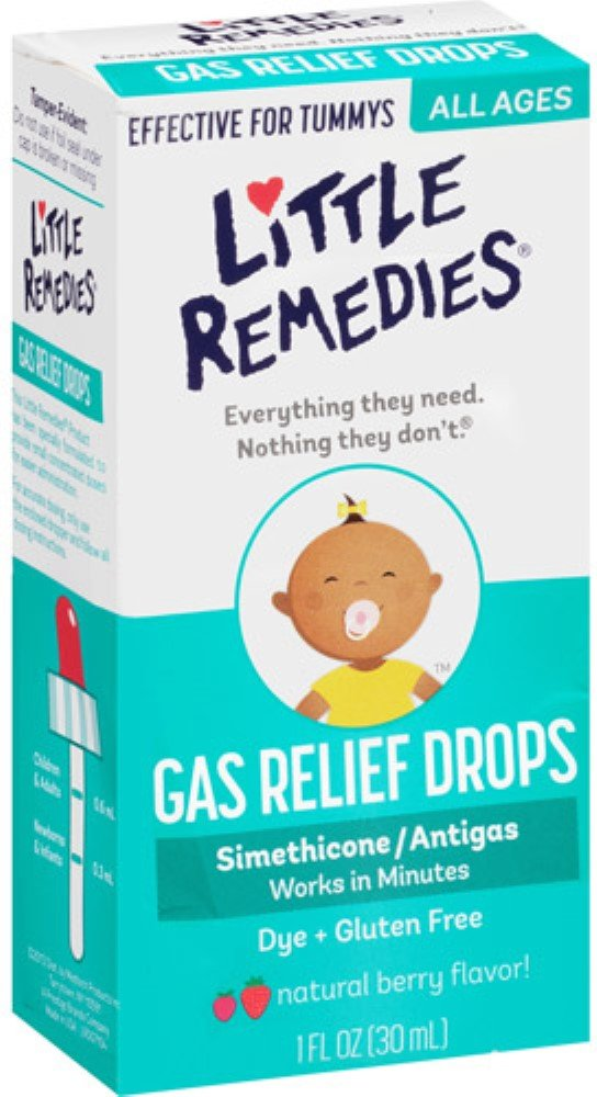 Little Tummys Gas Relief Drops 1 oz (Pack of 7)