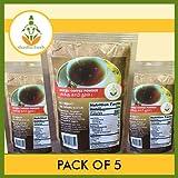 SHASTHA DRY-GINGER (SUKKU) COFFEE POWDER - PACK OF 5 (EACH PKT 100G)(T-S)